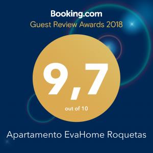 GUEST REVIEW AWARDS 2018 Apartamento EvaHome Roquetas